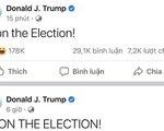 Ông Trump 2 lần trong ngày tuyên bố