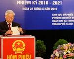 Ngày 23-5-2021: Bầu cử đại biểu Quốc hội và đại biểu HĐND các cấp