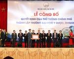 Trường ĐH Y Dược - ĐH Quốc gia Hà Nội phát triển theo hướng nghiên cứu