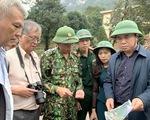 Bộ Xây dựng khảo sát, xác định nguyên nhân sạt lở đất ở miền Trung