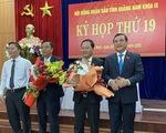 Quảng Nam có tân phó chủ tịch HĐND và UBND tỉnh