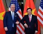 Phó thủ tướng Phạm Bình Minh tiếp Cố vấn an ninh quốc gia Mỹ O'Brien