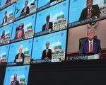 Ông Trump bất ngờ phát biểu tại diễn đàn APEC trực tuyến