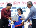 Tiếp sức 150 tân sinh viên nghèo Quảng Nam - Đà Nẵng đến trường