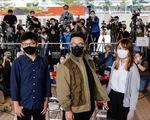 Hoàng Chi Phong, Chu Đình, Lâm Lãng Ngạn nhận tội liên quan biểu tình ở Hong Kong