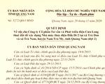Quảng Nam yêu cầu thu hồi quyết định cho thuê đất xây nhà máy thủy điện Đăk Di 2