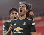 Cavani rực sáng khi vào sân, Man Utd thắng nghẹt thở Southampton
