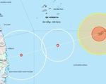 Ảnh hưởng bão số 10, biển Quảng Nam - Ninh Thuận gió mạnh lên từ tối nay