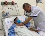 Tài xế 46 tuổi nhồi máu cơ tim khi chở học sinh đến trường