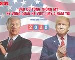 Bầu cử Mỹ và kỳ vọng quan hệ Việt - Mỹ 4 năm tới
