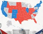 LIVE: Đang kiểm phiếu bầu cử Mỹ: Trump 210 phiếu đại cử tri, Biden 226