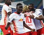 Vắng Mbappe và Neymar, PSG gục ngã trước Leipzig