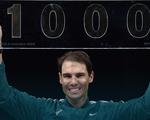 Điểm tin thể thao sáng 5-11: Nadal thắng trận thứ 1.000 tại ATP Tour
