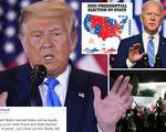 Ông Trump nói có nhiều bằng chứng gian lận, dọa kiện tất cả bang Biden thắng