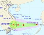 Ngày mai 9-11, áp thấp nhiệt đới có thể mạnh lên thành bão