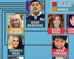 """Cuộc chiến giành tài sản của Maradona """"giống như một kỳ World Cup"""""""