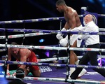 Knock-out Pulev sau 9 hiệp, Anthony Joshua hướng đến trận thống nhất đai với Tyson Fury