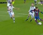 Messi ghi bàn thắng muộn giúp Barca vươn lên... thứ 8