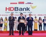HDBank nhận giải Ngân hàng bán lẻ và SME hàng đầu