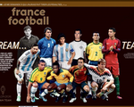 Điểm tin thể thao sáng 15-12: Messi, Ronaldo, Pele, Maradona vào