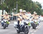 Cảnh sát giao thông ra quân tuần tra, trấn áp tội phạm