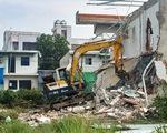 TP.HCM: Tháo dỡ 38 căn nhà xây dựng trái phép ở phường Hiệp Bình Chánh