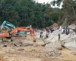 Dự kiến mùa khô 2021 tiếp tục tìm người mất tích ở thủy điện Rào Trăng 3