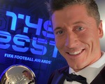 Đánh bại Messi và Ronaldo, Lewandowski giành giải FIFA The Best