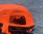 Tàu Xin Hong đã chìm hẳn dưới biển Phú Quý, tìm thấy một thi thể thuyền viên