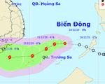 Áp thấp nhiệt đới có khả năng mạnh lên thành bão, diễn biến phức tạp