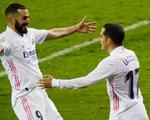 Benzema ghi bàn và kiến tạo, Real Madrid lên nhì bảng