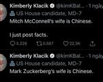 Chính khách Mỹ bị chỉ trích vì nói vợ Mark Zuckerberg là