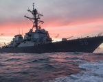 Tàu khu trục USS John S. McCain của Mỹ tới Trường Sa, Trung Quốc điều quân đội
