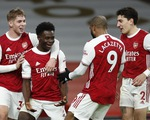 Arsenal thắng thuyết phục Chelsea trong trận derby London