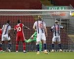 Liverpool không thắng nổi đội áp chót West Brom tại Anfield