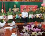Khen thưởng lực lượng công an phá vụ cướp ngân hàng Agribank Đồng Nai