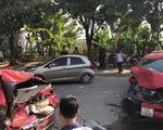 Ôtô đâm liên hoàn 3 xe máy và 1 ôtô, làm 1 người chết, 3 bị thương