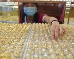 Giá vàng: sáng tăng, tối 'tụt áp' mạnh