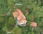 Nhà xây đồ sộ không phép trên đất lâm nghiệp ở Ghềnh Ráng nhưng địa phương