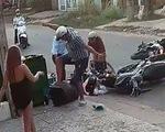 Nam thanh niên lên gối, đạp vào đầu nữ sinh sau tai nạn