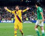 Messi lập hat-trick kiến tạo giúp Barca chật vật ngược dòng trước Real Betis