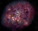 Phát hiện sự tồn tại của một thiên hà khổng lồ thời kỳ đầu hình thành vũ trụ