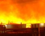 Cháy lớn tại nhà máy lọc dầu của Exxon Mobil ở Mỹ