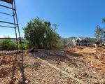 Tháo dỡ công trình của trung tá công an xây trái phép trên đất công vụ