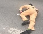 Đôi nam nữ vượt đèn đỏ tông gục trung úy cảnh sát giao thông