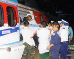 Trực thăng bay ra Trường Sa cấp cứu cùng lúc hai ngư dân nguy kịch