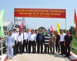 Khánh thành 25 cây cầu do nguyên Chủ tịch nước Trương Tấn Sang vận động tài trợ