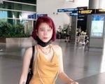 Cô gái về từ Daegu lên mạng