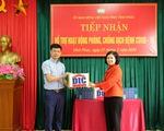 Tập đoàn DIC trao tặng Vĩnh Phúc 3.000 chai dung dịch sát khuẩn