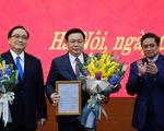 Tân bí thư Thành ủy Hà Nội Vương Đình Huệ: Vinh dự lớn, trách nhiệm nặng nề